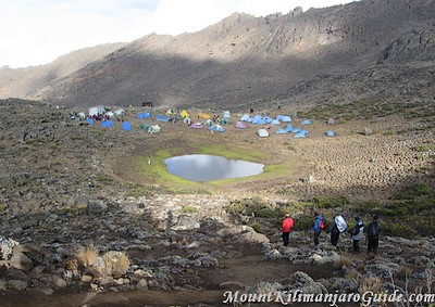 Mawenzi Tarn Camp, Kilimanjaro, Rongai Route