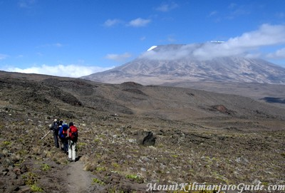 The Saddle of Kilimanjaro, Day 4 of the Rongai Route