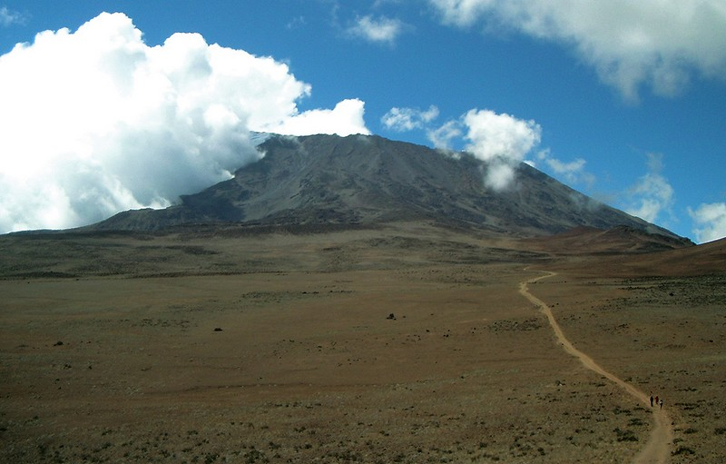 The Saddle of Kilimanjaro