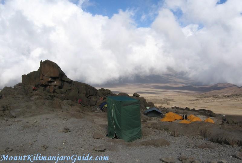 Kibo Huts Camp