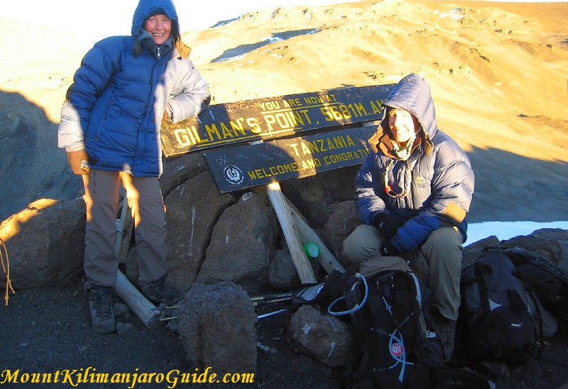 Kilimanjaro climb via Marangu route - Gilman's Point