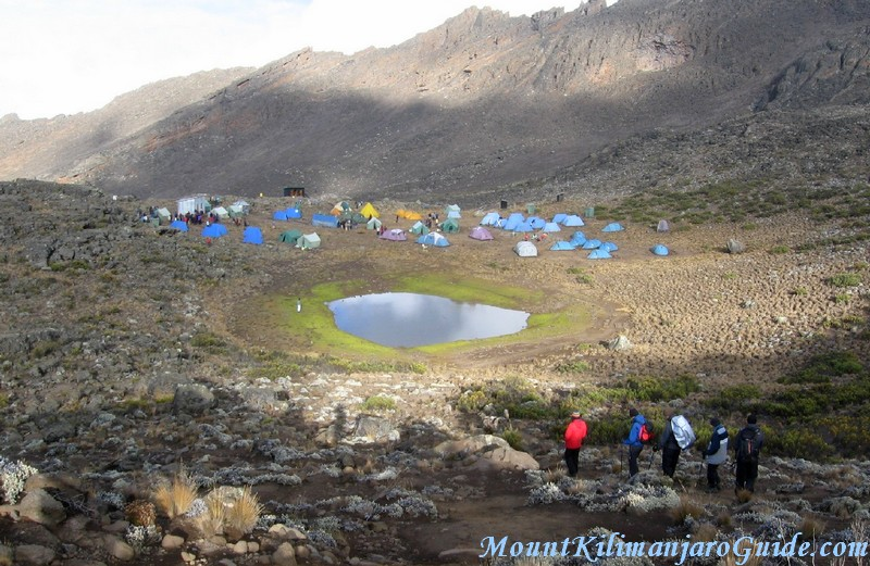 Climbing Kilimanjaro along Rongai Route, day 3