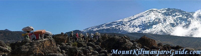 On the Machame Route, day 3