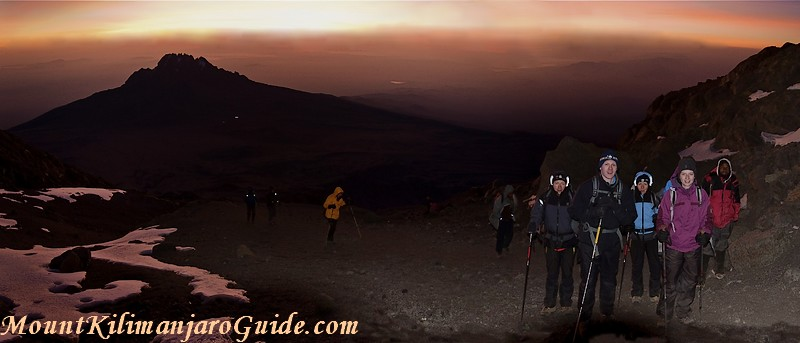 Early morning on Machame summit day