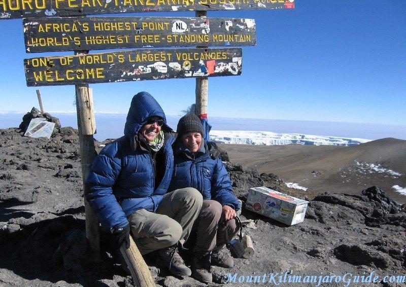 Climbing Mount Kilimanjaro, Uhuru Peak