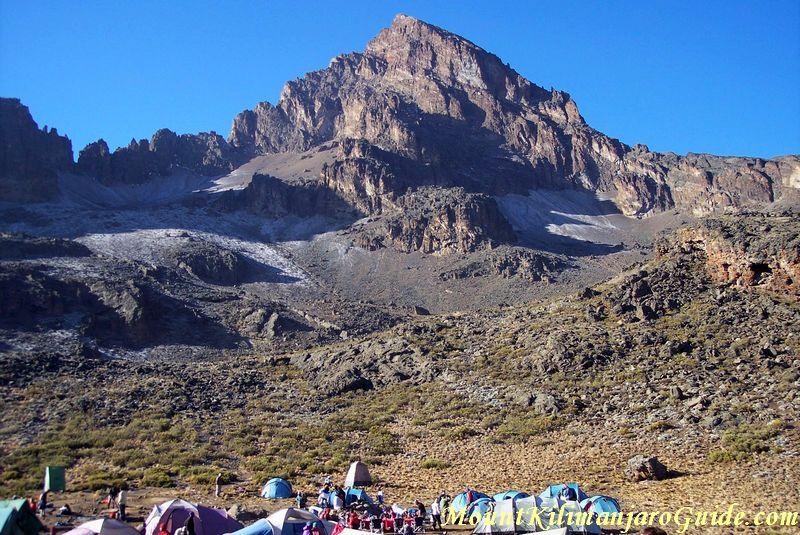 Mawenzi Peak Campsite