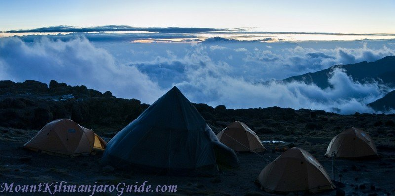 Shira Camp Sunset